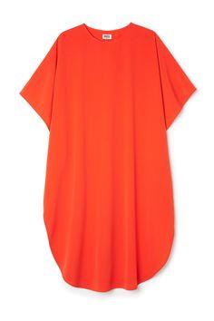 Weekday image 1 of W Dune Dress in Orange Reddish Dark