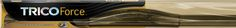 We carry high quality TRICO Force Wiper Blades. TRICO offers the best wiper coverage with multiple styles, lengths and wiper arm types.
