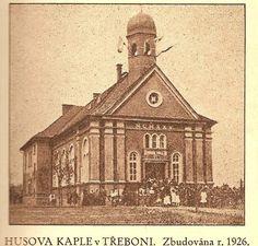 Hus Chapel (1926) Czech Republic, Taj Mahal, Spaces, Travel, Bohemia, Viajes, Destinations, Traveling, Trips