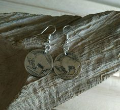 Check out this item in my Etsy shop https://www.etsy.com/listing/265621697/buffalo-indian-head-coin-earrings-nickel