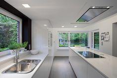 Keuken S Heusden-Zolder   PAS INTERIEUR   INTERIEURCONCEPTEN// nota C: dampkap in plafond of in werkblad integreren?