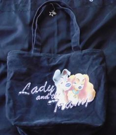 Medium Size Disney Lady and the Tramp Tote Bag Purse in Clothing, Shoes & Accessories   eBay  $4.00 plus free shipping! Limited time only!