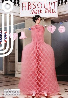 Marjan Pejoski - Dress like a paper concertina  decoration!