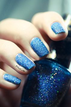 Sparkly blue:)