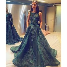 Emerald wedding dresses ❤ liked on Polyvore featuring dresses and wedding dresses