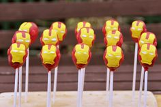 iron man cake pop army 600x400 all things disney diy crafts  Ultimate Iron Man Party Ideas