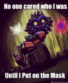 Majora's Mask. One of the saddest, darkest, and disturbingly beautiful games you will ever play.