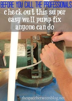 this is a great short story to encourage everyone to take a minute before we overpay for professionals.  You'll be amazed at how easy and CHEAP this seemingly large well pump issue was to fix