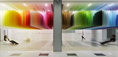 100 colors + white, concept and design Emmanuelle Moureaux, Tokyo, September 2013
