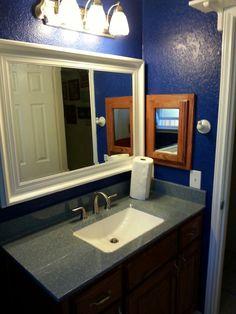 Modern Remake Of An Outdated Pink Bathroom Beforeandafter Before - Bathroom remake