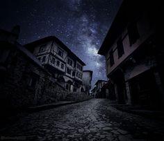Houses of Safranbolu at night by abdullatif mirza - Photo 201805809 / 500px. #turkey #türkiye #safranbolu #city #street #light #house #urban #architecture #shadow #moon #monochrome #dark #horror #abandoned #creepy #outdoors #eerie #scary #haunt #offense #noperson #skittish #turkia