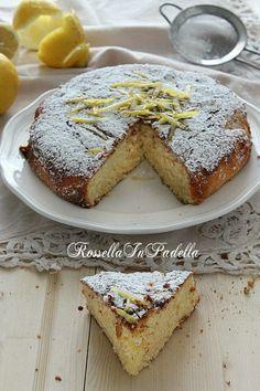 Limonotta, torta al limone nel frullatore