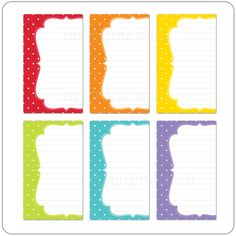 April Showers Journaling Note Cards - Click Image to Close