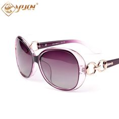 166b84ee24c368 2017 fashion transparent frame polarized sunglasses women brand designer  driving sun glasses oculos de sol feminina-in Sunglasses from Women s  Clothing ...