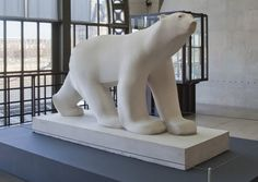 Quite possibly my favourite sculpture: François Pompon's Polar Bear, at le Musée d'Orsay, Paris.