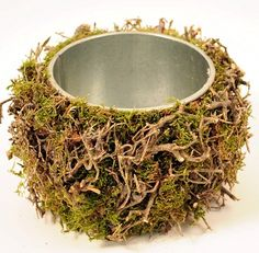"5"" Natural Pinar & Moss Pot"