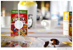 Cereal Favors for a Breakfast Wedding
