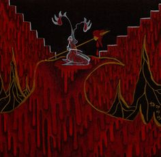 drawlloween day 23: gore Raining Blood - Slayer / Tori Amos