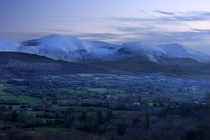 The Galtees Ireland's tallest inland mountains Photograph by Pierre Leclerc