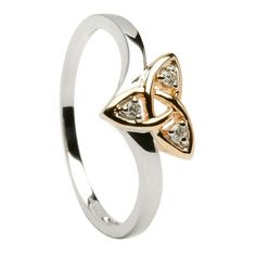 Irish and Celtic Jewellery from Dublin - I would prefer this with emeralds instead of diamonds