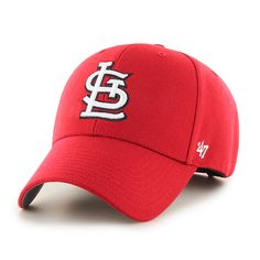 6fbe8567745bc St. Louis Cardinals MVP Home 47 Brand Adjustable Hat · Nfl CapsSt ...