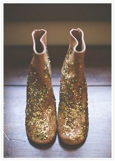 Maison Martin Margiela : sequin-splashed leather booties | Sumally (サマリー)