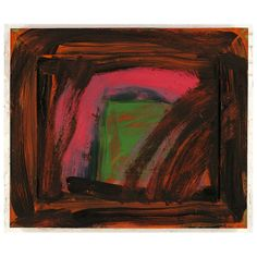 Colour can be so powerful and we love the way Howard Hodgkin uses it in his paintings, creating a language all of their own. Despite their apparent spontan Abstract Painters, Abstract Art, Howard Hodgkin, Modern Art, Contemporary Art, Hans Peter, Gravure, Minimalist Art, Beautiful Paintings