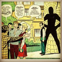 #spiderman #comic #marvel #hombrearaña #peter #parker #spidey
