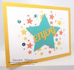 Perpetual Calendar stamp set, Star Framelits and more.  See the post for details.