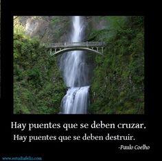 Hay puentes que se deben cruzar... (se impersonal)