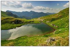 Capra Lake, near Balea Lake, Transfagaran
