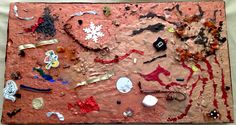"Art work by Catherine Taormina ""Volcano"" Original Art For Sale, Volcano, Gingerbread Cookies, Art Work, Gingerbread Cupcakes, Artwork, Work Of Art, Volcanoes"