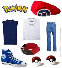 Ash (Pokemon) inspired outfit