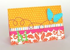 We R Memory Keepers Sew Easy card. #cybermonday