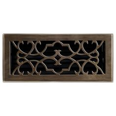 4 in. x 10 in. This antique brass finish solid brass floor register heat vent cover with a victorian scroll design fits 4 in. x 10 in. x 2 in. Red Oak Wood, Floor Registers, Decorative Vent Cover, Vent Covers, Brass Decor, Victorian Style Homes, Decorative Hardware, Floor Decor, Flooring
