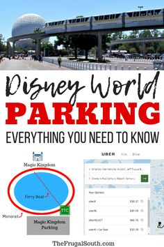 Everything you need to know about parking a car at Disney World! How much it costs, where the parking lots are located, how to avoid parking fees, parking at resorts and Disney Springs, and more. Voyage Disney World, Disney World Hotels, Disney World Parks, Walt Disney World Vacations, Disney World Resorts, Disney Worlds, Disney Travel, Disney Vacation Planning, Disney World Planning