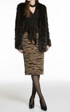 Uniqlo, Sequin Skirt, Fur Coat, Sequins, Skirts, Jackets, Fashion, Down Jackets, Moda