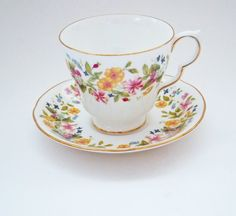 China cup, China saucer, Colclough tea cup, Colclough china, English china, Colclough teacup Christmas Presents For Mum, Gifts For Mum, Mother Gifts, English China, Mum Birthday, China Tea Cups, Thoughtful Gifts, Teacup, Tea Set