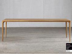 Rectangular wooden table Latus Collection by Artisan | design Salih Teskeredžic