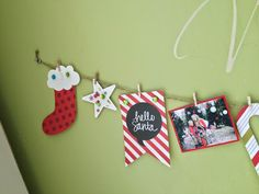 All Scrapbook Steals - The Blog: Simple Stories DIY Christmas Banner.