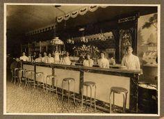 soda fountain stools in Wichita, Kansas, 1902