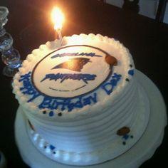 Carolina Panthers Cake