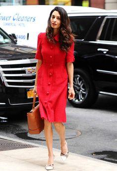 Amal Clooney ihastui tähän mekkomalliin