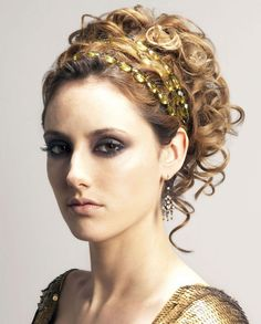 grecian hair style i chose to do this ancient greece updo because its 5263
