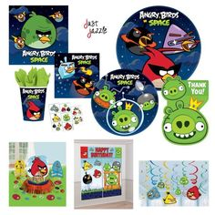 Amscan Fun-Filled Angry Birds Birthday Party Favour Cup Green 16 oz