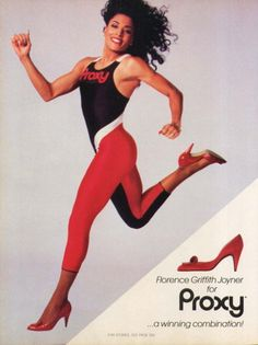Florence Griffith Joyner, Proxy Ad