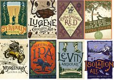 I just really like all of these labels from Odell Brewing, in Fort Collins, CO. They have a soft, old-fashioned edge, with a sort of woodcut...