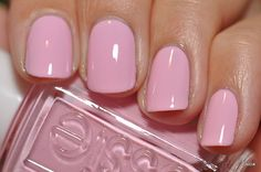 Essie Raise Awareness...for October (the ONLY month of the year I allow pink in my wardrobe...lol)
