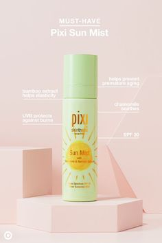 You know the shtick: Sunscreen is important, but it's easier said than done. That is, until Pixi Sun Mist. It's SPF 30 in a spray. Just spritz, blend and you're set. It's small enough to fit in your purse or carry-on so you're never without UVA/UVB protection. Plus, it's made with chamomile and bamboo to soothe skin and help prevent wrinkles. Friendly reminder: Hands need SPF too!