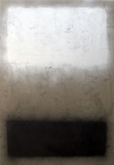 Marc Bijl, The Loss (after Mark Rothko), 2010 Admire Rothko and this painting devoid of color is striking in the loss of this color field painter. Tachisme, Contemporary Abstract Art, Modern Art, Rothko Art, Mark Rothko Paintings, Art Paintings, Colour Field, Art Moderne, Artwork